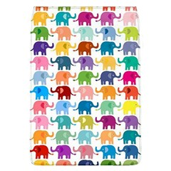 Lovely Colorful Mini Elephant Flap Covers (l)  by Brittlevirginclothing