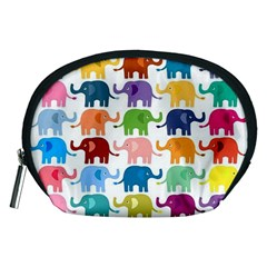 Lovely Colorful Mini Elephant Accessory Pouches (medium)  by Brittlevirginclothing