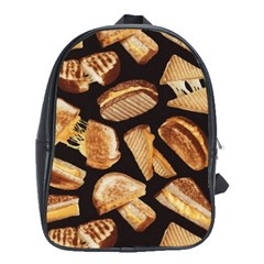 Delicious Snacks  School Bags (xl)  by Brittlevirginclothing