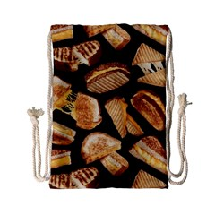 Delicious Snacks  Drawstring Bag (small) by Brittlevirginclothing
