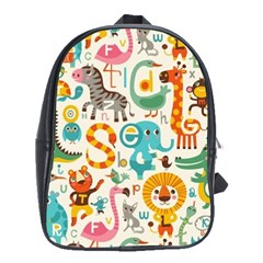 Lovely Small Cartoon Animals School Bags(large)  by Brittlevirginclothing