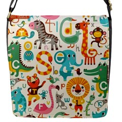 Lovely Small Cartoon Animals Flap Messenger Bag (s) by Brittlevirginclothing