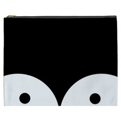 Adorable Pinguin Design Cosmetic Bag (xxxl)  by Brittlevirginclothing