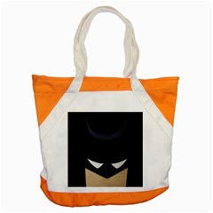 Batman Accent Tote Bag by Brittlevirginclothing
