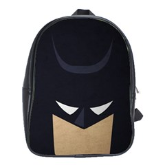 Batman School Bags(large)  by Brittlevirginclothing