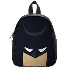 Batman School Bags (small)  by Brittlevirginclothing