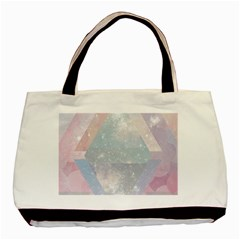 Colorful Pastel Crystal Basic Tote Bag (two Sides) by Brittlevirginclothing