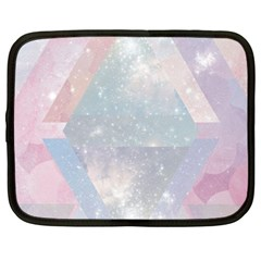 Colorful Pastel Crystal Netbook Case (large) by Brittlevirginclothing