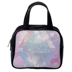 Colorful Pastel Crystal Classic Handbags (one Side) by Brittlevirginclothing