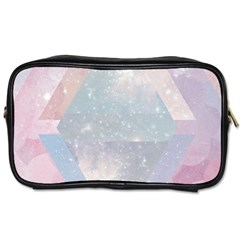 Colorful Pastel Crystal Toiletries Bags 2 Side by Brittlevirginclothing