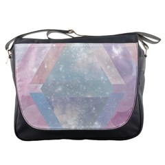 Colorful Pastel Crystal Messenger Bags by Brittlevirginclothing