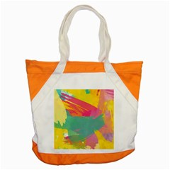 Colorful Paint Brush  Accent Tote Bag by Brittlevirginclothing