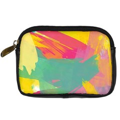 Colorful Paint Brush  Digital Camera Cases by Brittlevirginclothing