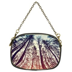 Lovely Up View Forest  Chain Purses (two Sides)  by Brittlevirginclothing
