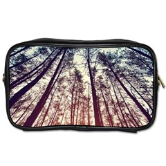 Lovely Up View Forest  Toiletries Bags by Brittlevirginclothing
