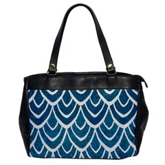 Blue Fish Scales  Office Handbags by Brittlevirginclothing