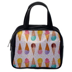 Colorful Ice Cream  Classic Handbags (one Side) by Brittlevirginclothing