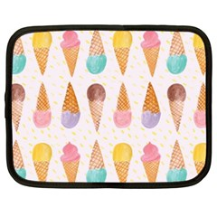 Colorful Ice Cream  Netbook Case (xxl)  by Brittlevirginclothing
