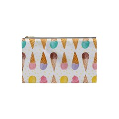 Colorful Ice Cream  Cosmetic Bag (small)  by Brittlevirginclothing