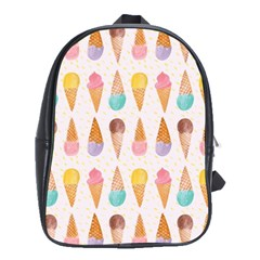 Colorful Ice Cream  School Bags(large)  by Brittlevirginclothing