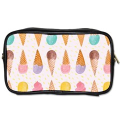 Colorful Ice Cream  Toiletries Bags by Brittlevirginclothing