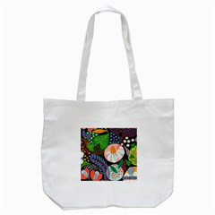 Japanese Inspired  Tote Bag (white) by Brittlevirginclothing