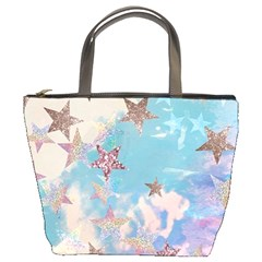 Pastel Colored Stars  Bucket Bags by Brittlevirginclothing