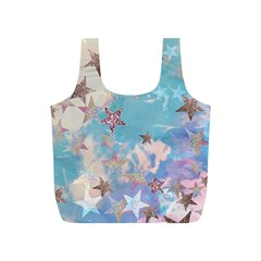 Pastel Colored Stars  Full Print Recycle Bags (s)  by Brittlevirginclothing