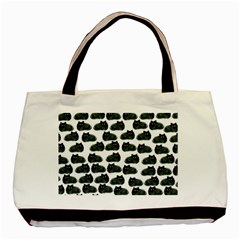 Black Cat Basic Tote Bag (two Sides) by Brittlevirginclothing