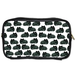Black Cat Toiletries Bags by Brittlevirginclothing