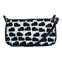 Black Cat Shoulder Clutch Bags by Brittlevirginclothing