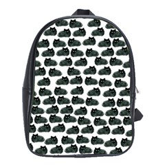 Black Cat School Bags (xl)  by Brittlevirginclothing