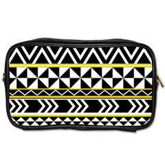 Black Bohemian Toiletries Bags 2 Side by Brittlevirginclothing