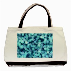 Blue Toned Light  Basic Tote Bag by Brittlevirginclothing