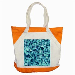Blue Toned Light  Accent Tote Bag by Brittlevirginclothing