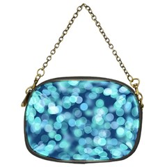 Blue Toned Light  Chain Purses (one Side)  by Brittlevirginclothing