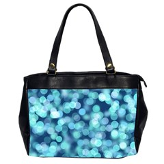 Blue Toned Light  Office Handbags (2 Sides)  by Brittlevirginclothing