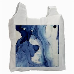 Paint In Water Recycle Bag (one Side) by Brittlevirginclothing