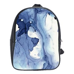 Paint In Water School Bags(large)  by Brittlevirginclothing