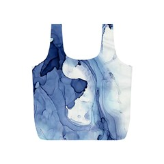 Paint In Water Full Print Recycle Bags (s)  by Brittlevirginclothing