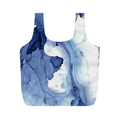 Paint In Water Full Print Recycle Bags (m)  by Brittlevirginclothing