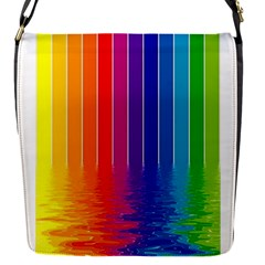 Fading Rainbow Flap Covers (s)  by Brittlevirginclothing