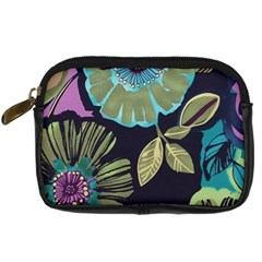 Lila Toned Flowers Digital Camera Cases by Brittlevirginclothing