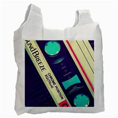 Vintage Casette  Recycle Bag (two Side)  by Brittlevirginclothing