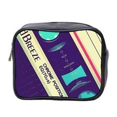 Vintage Casette  Mini Toiletries Bag 2-side by Brittlevirginclothing
