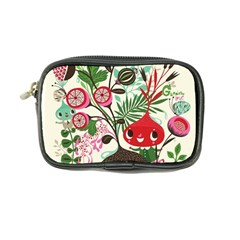 Cute Flower Cartoon  Characters  Coin Purse by Brittlevirginclothing