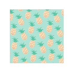 Cute Pineapple Small Satin Scarf (square) by Brittlevirginclothing