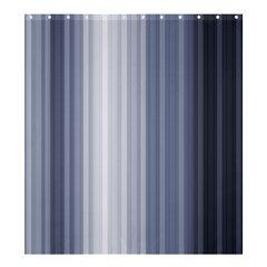 Gray Line Shower Curtain 66  X 72  (large)