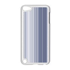 Gray Line Apple Ipod Touch 5 Case (white)