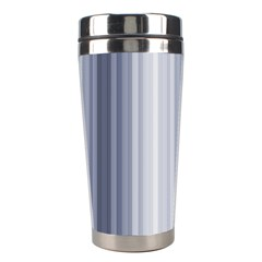 Gray Line Stainless Steel Travel Tumblers